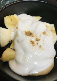 バナナ&はちみつヨーグルトソース