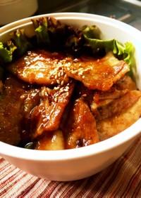 タレが凄い!豚バラ肉のスタミナ焼き