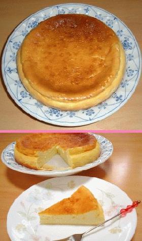 すごくおいしい!簡単チーズケーキ