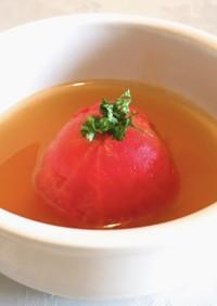 名店の味♡絶品トマト丸ごとスープ煮込み