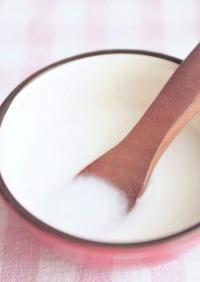 【離乳食初期】米粉のミルクおもゆ