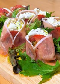 トマトとマスカルポーネのカッペリーニ