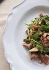 鯖缶と三つ葉とスモークチーズのサラダ