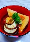 焼き茄子と焼き油揚げの味噌汁