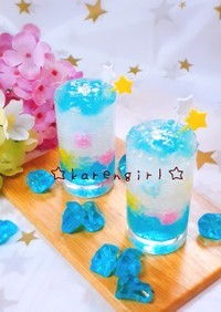 七夕☆キラキラメルヘンゼリー☆