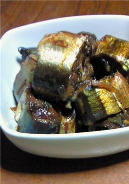 母の味♡圧力鍋で簡単♪秋刀魚の煮物