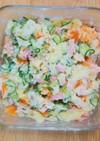 簡単*野菜たっぷりポテトサラダ