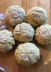 メロンパン風カップクッキー