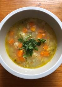 ひよこ豆のスープ ギリシャ料理