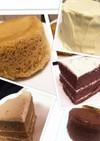 レンジで簡単2分☆カフェオレおからケーキ
