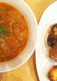 にんにくのスープ (ソッパデアホ)