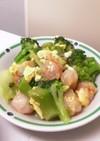 海老とブロッコリーの卵あんかけ