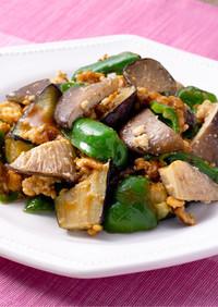 黒あわび茸の肉味噌炒め