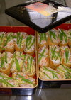 手抜き彩り稲荷寿司