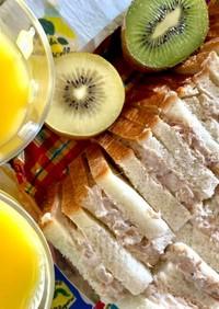 ギリシャヨーグルトのツナマヨサンドイッチ