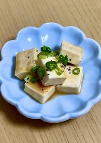 簡単!クリームチーズのはちみつ味噌漬け