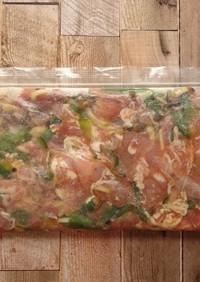 冷凍下味★豚肉のにんにくしょう油漬け