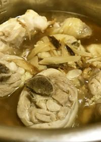 ◤電鍋レシピ◢鶏ごま油煮[麻油鶏]