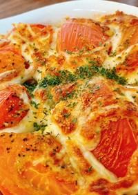 【簡単】トマトとズッキーニのオーブン焼き