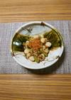 ヨウサマの減塩玉蒟蒻とシシトウの炒め物