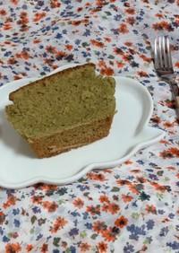 HM簡単グルテンフリー抹茶パウンドケーキ