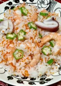 七夕♡海鮮ちらし寿司