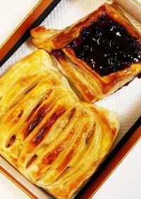 ブルーベリーとクリームチーズのパイ