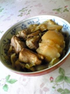 ♡鶏とキャべツのやわらか煮込み♡