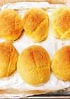 バターロールで作る簡単メロンパン