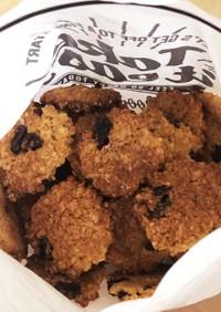 オートミールと全粒粉とラカントのクッキー