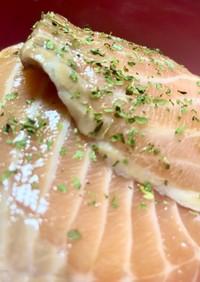 韓国流★日韓夫婦が作る簡単サーモン漬け丼