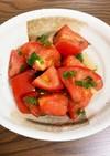 さっぱり無限トマトサラダ
