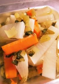 電気圧力鍋 離乳食野菜スティックとスープ
