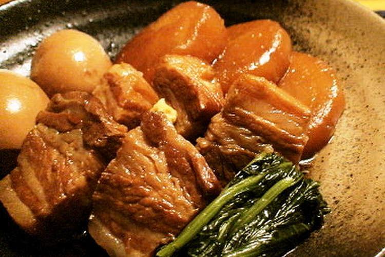 大根 煮物 豚肉