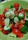 トマトきゅうり酢味噌(簡単)