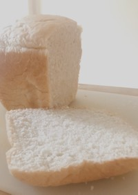 アメリカの小麦粉で生食パン【HB使用】