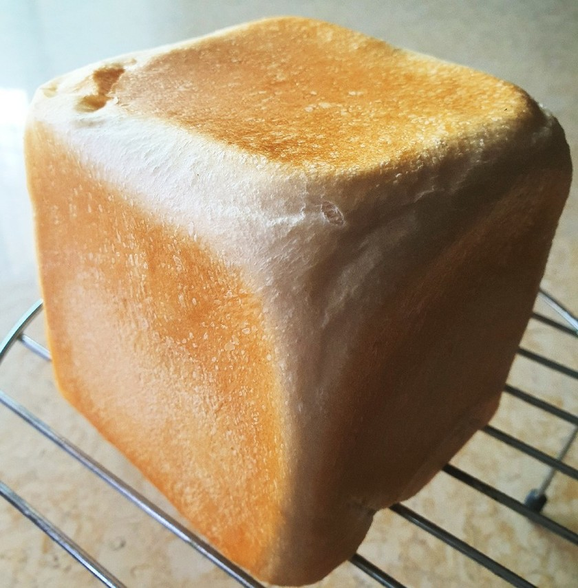 ドライイースト1gでふわふわ食パン