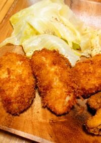 鱈のフライ ※天ぷら粉でバッター液