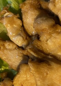 しょうゆ麹で鶏胸肉焼き