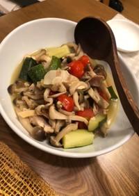 スープみたいな温野菜サラダ