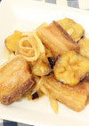 豚バラ肉とナスの南蛮漬け