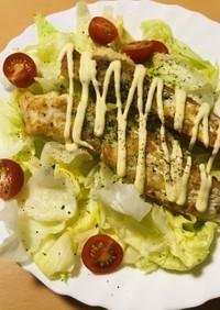 白身魚のフライ●タラ切身の揚げ焼きフライ