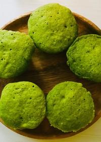 プロテイン青汁蒸しパン