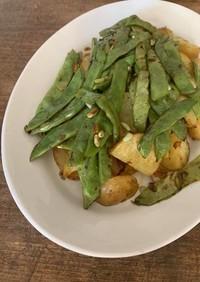モロッコサヤインゲンのサラダ