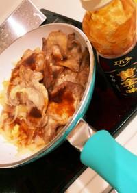 焼肉のタレで簡単生姜焼き
