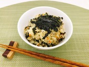 韓国風!!牛そぼろ炊き込みご飯の写真
