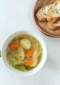 【朝スープ】野菜たっぷり満腹スープ