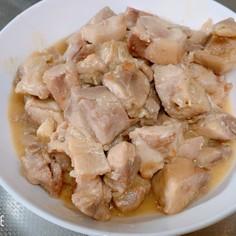 鶏ももの味噌バター炒め