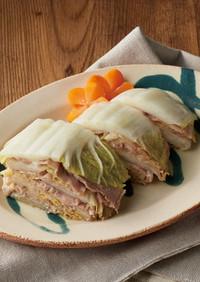 電気圧力鍋で!豚肉と白菜のミルフィーユ