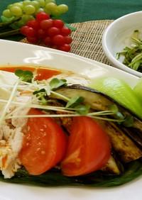 冷やし坦々素麺(健康食)